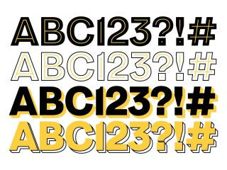 Our very own typeface