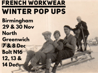 The French Workwear Company pop-up