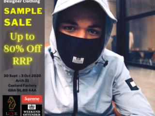 Luke Sample Sale